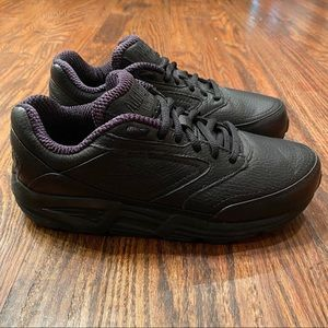 Brooks Addiction Walker Black Shoes